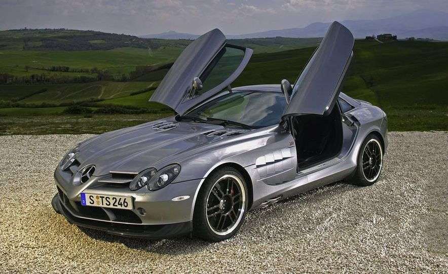 2007 Mercedes-Benz SLR McLaren 722 Edition interior - Slide 8