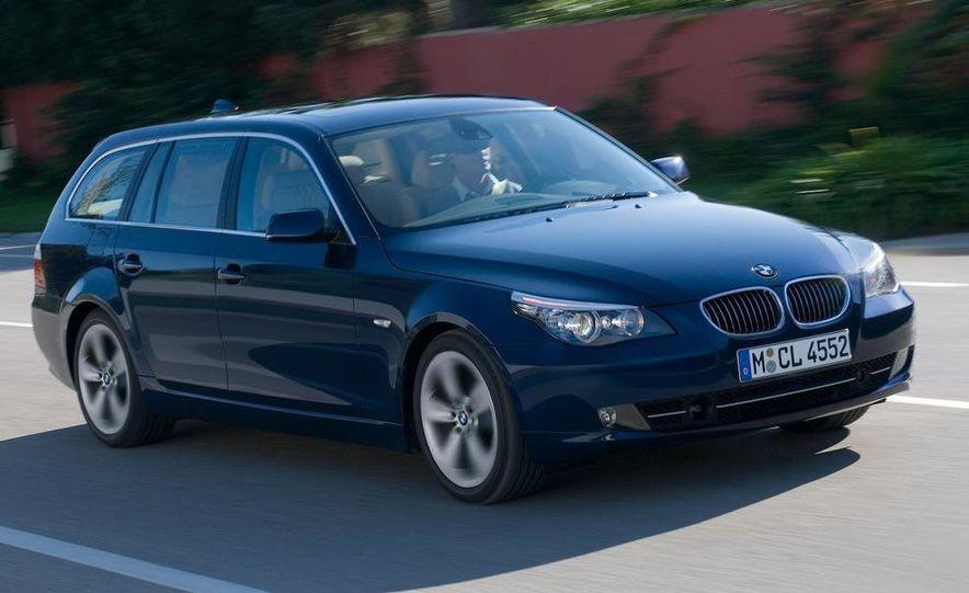 2011 BMW 5-series sedan (spy photo) - Slide 31