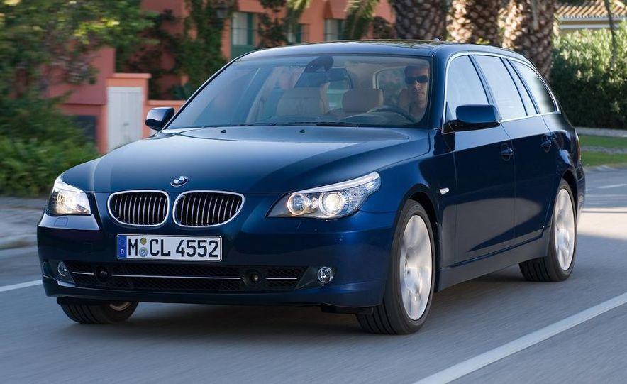 2011 BMW 5-series sedan (spy photo) - Slide 32