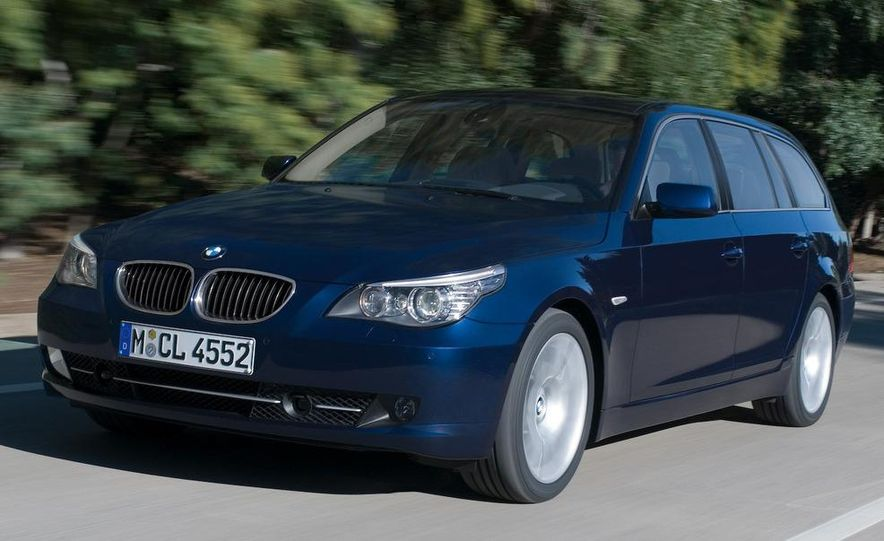 2011 BMW 5-series sedan (spy photo) - Slide 33