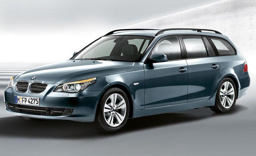 2011 BMW 5-series sedan (spy photo) - Slide 38