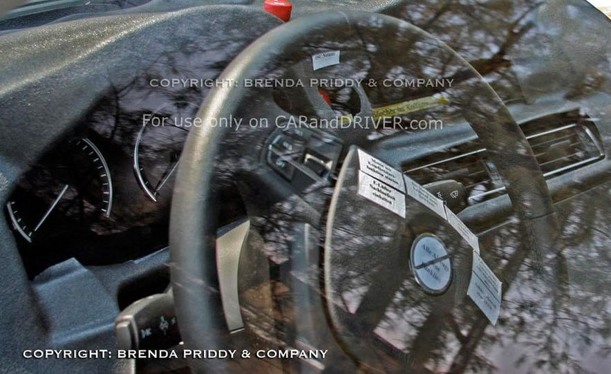 2011 BMW 5-series sedan (spy photo) - Slide 30