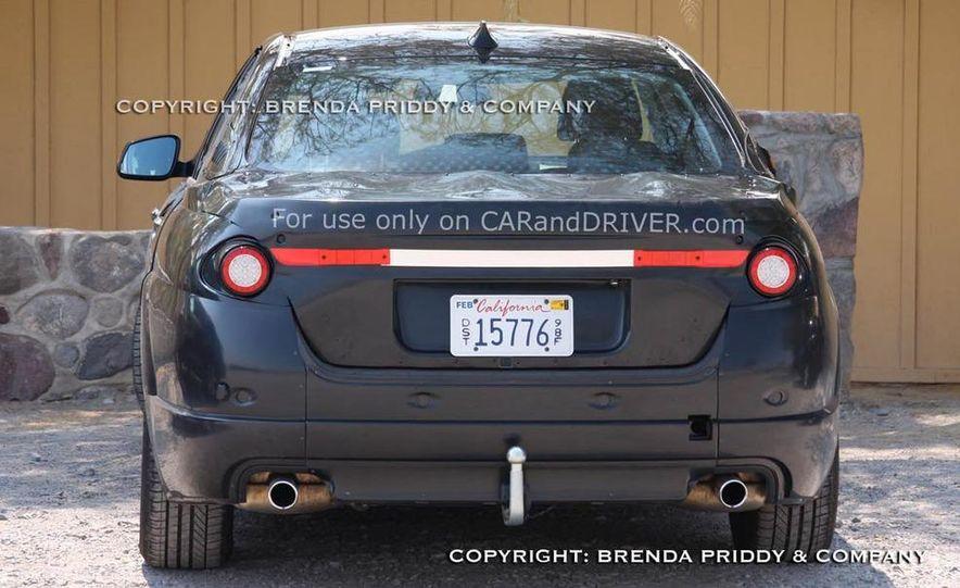 2011 BMW 5-series sedan (spy photo) - Slide 15