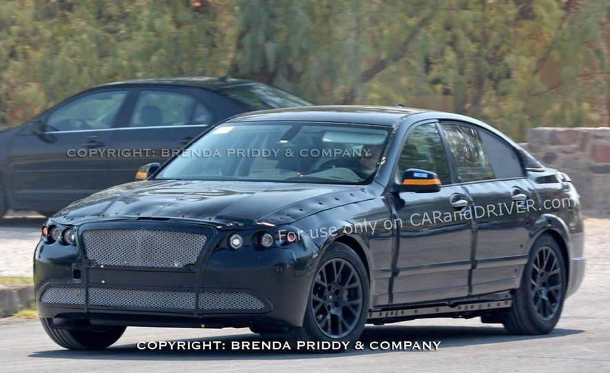 2011 BMW 5-series sedan (spy photo) - Slide 17