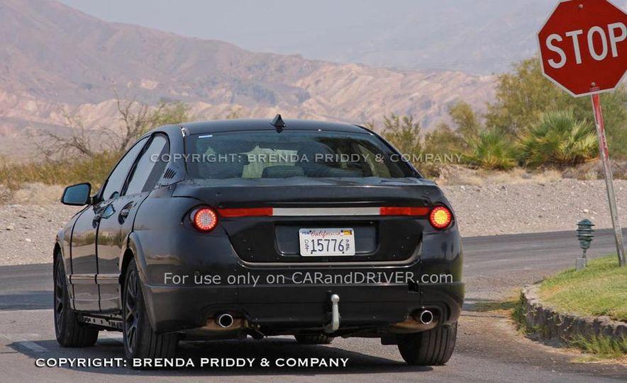 2011 BMW 5-series sedan (spy photo) - Slide 19