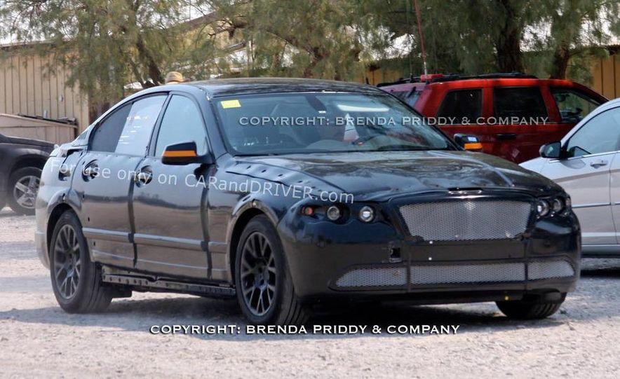 2011 BMW 5-series sedan (spy photo) - Slide 20