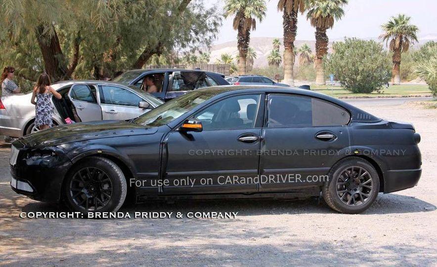 2011 BMW 5-series sedan (spy photo) - Slide 22