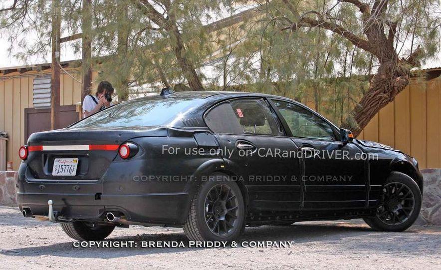 2011 BMW 5-series sedan (spy photo) - Slide 23