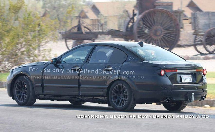 2011 BMW 5-series sedan (spy photo) - Slide 25