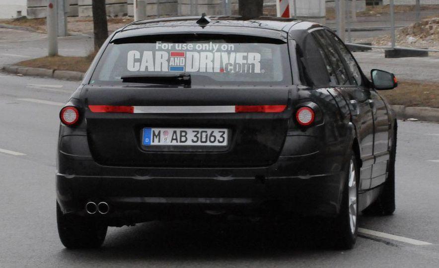 2011 BMW 5-series sedan (spy photo) - Slide 9