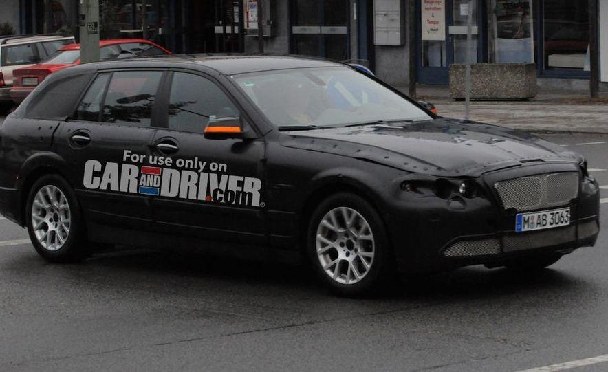 2011 BMW 5-series sedan (spy photo) - Slide 12