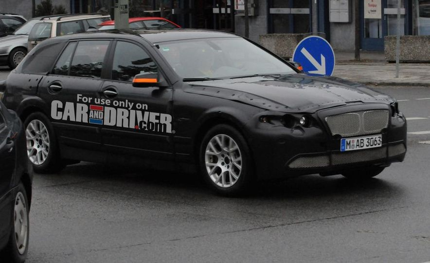 2011 BMW 5-series sedan (spy photo) - Slide 13