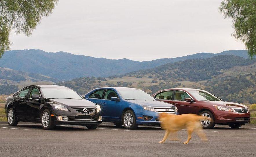 2009 Mazda 6 i Touring instrument cluster - Slide 25