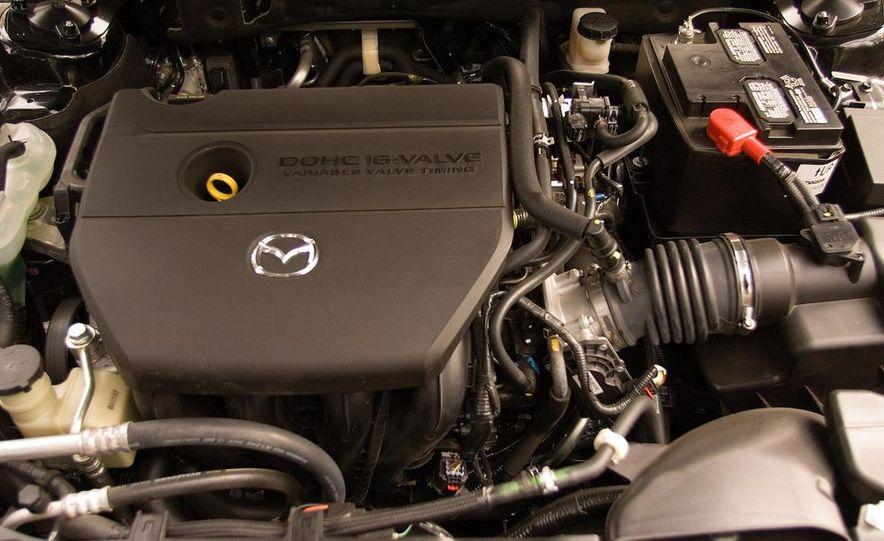 2009 Mazda 6 i Touring instrument cluster - Slide 18