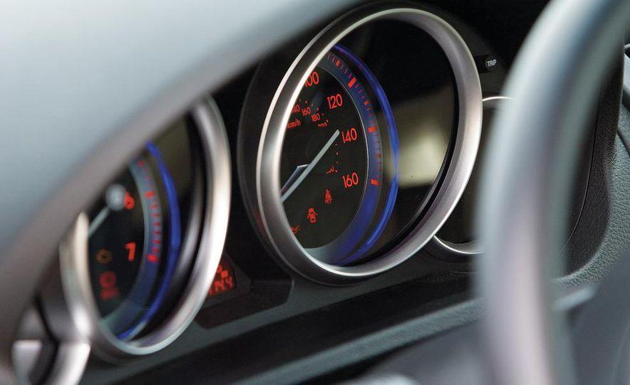 2009 Mazda 6 i Touring instrument cluster - Slide 1