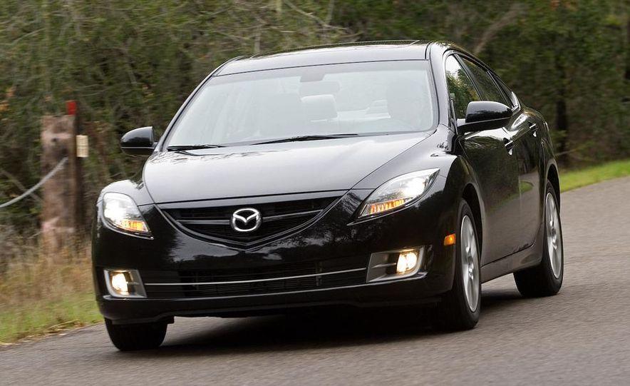 2009 Mazda 6 i Touring instrument cluster - Slide 22