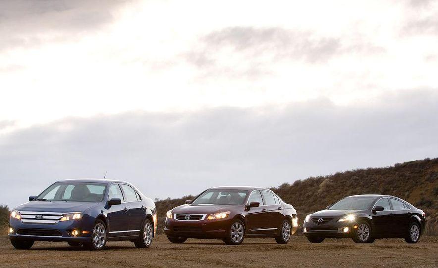 2009 Mazda 6 i Touring instrument cluster - Slide 15