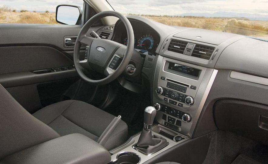 2009 Mazda 6 i Touring instrument cluster - Slide 4