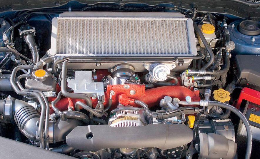 2008 Subaru Impreza WRX STI fender vent and wheel - Slide 4