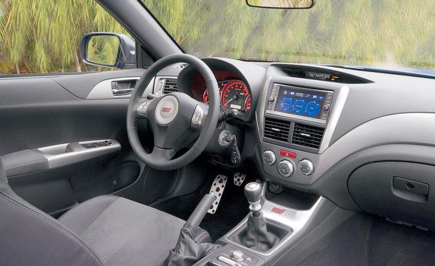 2008 Subaru Impreza WRX STI fender vent and wheel - Slide 7
