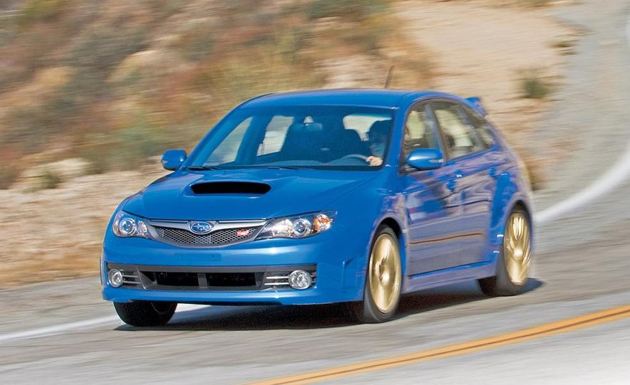 2008 Subaru Impreza WRX STI fender vent and wheel - Slide 3