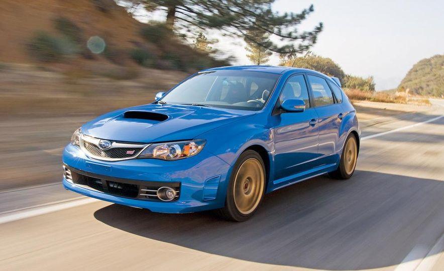 2008 Subaru Impreza WRX STI fender vent and wheel - Slide 6