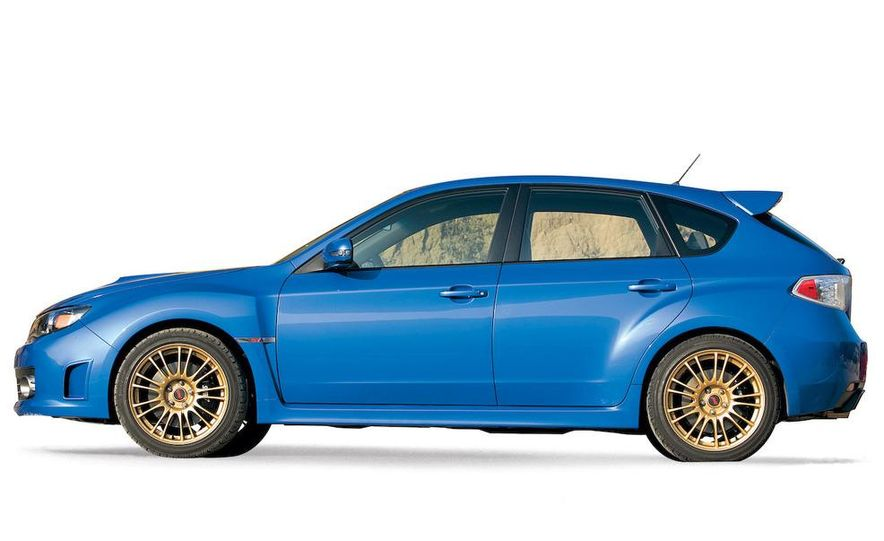2008 Subaru Impreza WRX STI fender vent and wheel - Slide 10