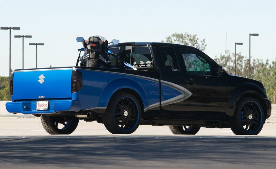 2009 Suzuki Equators by Off-Road, Truckin', and 4-Wheel & Off-Road magazines - Slide 4