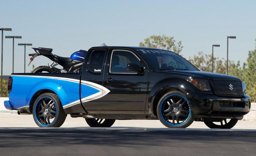 2009 Suzuki Equators by Off-Road, Truckin', and 4-Wheel & Off-Road magazines - Slide 8