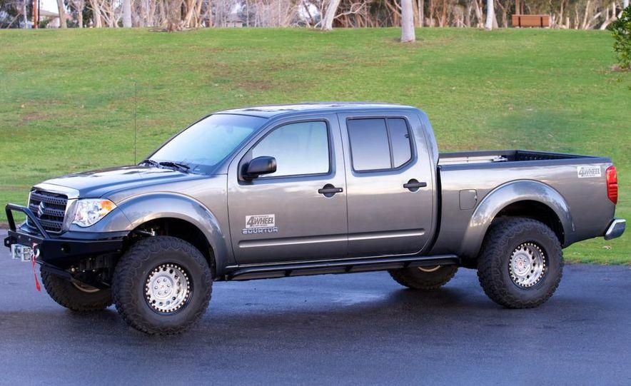 2009 Suzuki Equators by Off-Road, Truckin', and 4-Wheel & Off-Road magazines - Slide 14