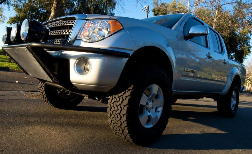 2009 Suzuki Equators by Off-Road, Truckin', and 4-Wheel & Off-Road magazines - Slide 24