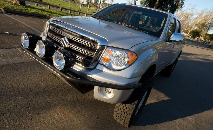 2009 Suzuki Equators by Off-Road, Truckin', and 4-Wheel & Off-Road magazines - Slide 25