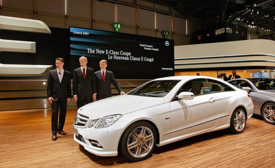 The new Mercedes Benz E-class coupe presented by G. Wagener, VP of Design - Slide 5