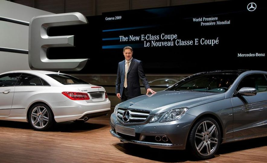 The new Mercedes Benz E-class coupe presented by G. Wagener, VP of Design - Slide 1