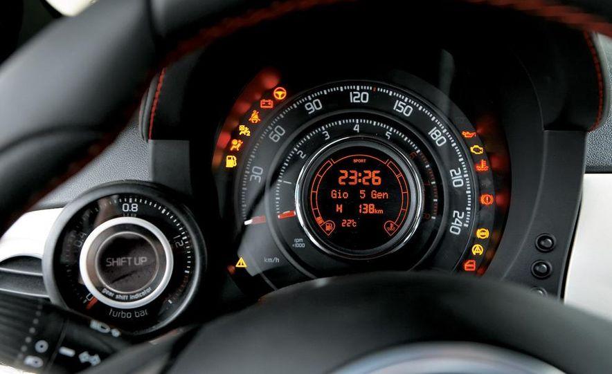 2009 Fiat 500 Abarth - Slide 20