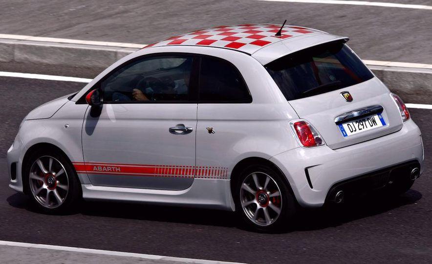 2009 Fiat 500 Abarth - Slide 8