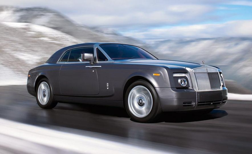 2009 Rolls-Royce Phantom extended wheelbase sedan - Slide 13