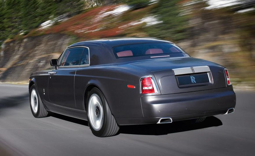 2009 Rolls-Royce Phantom extended wheelbase sedan - Slide 14