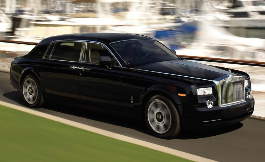 2009 Rolls-Royce Phantom extended wheelbase sedan - Slide 1