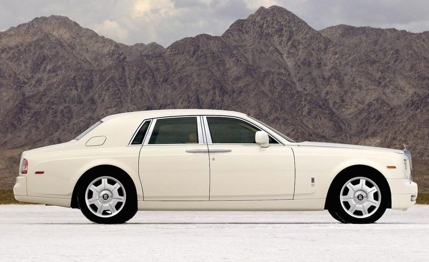 2009 Rolls-Royce Phantom extended wheelbase sedan - Slide 8