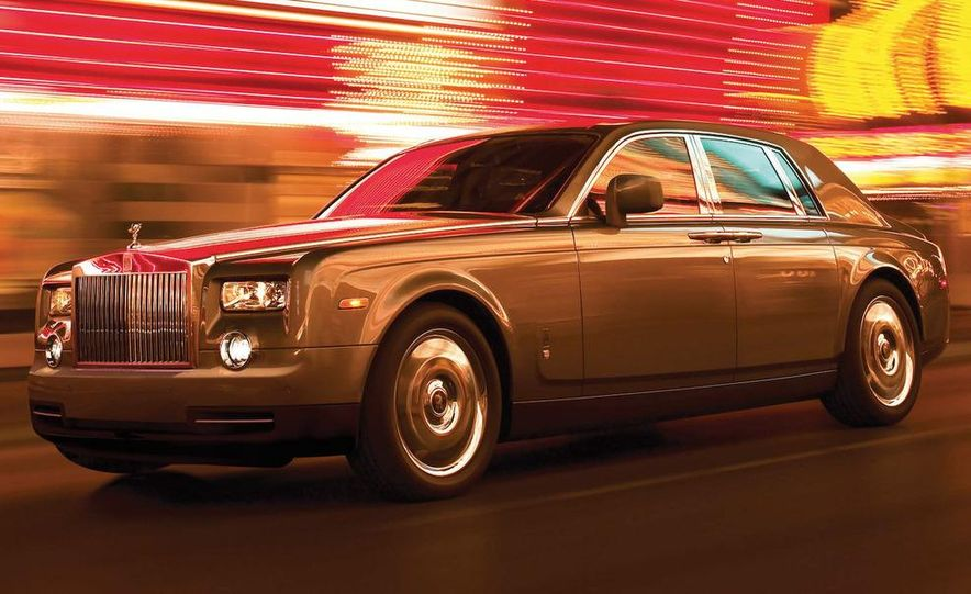 2009 Rolls-Royce Phantom extended wheelbase sedan - Slide 10