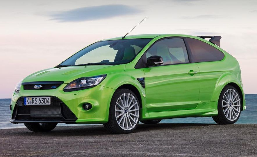 2009 Ford Focus RS (European model) - Slide 18