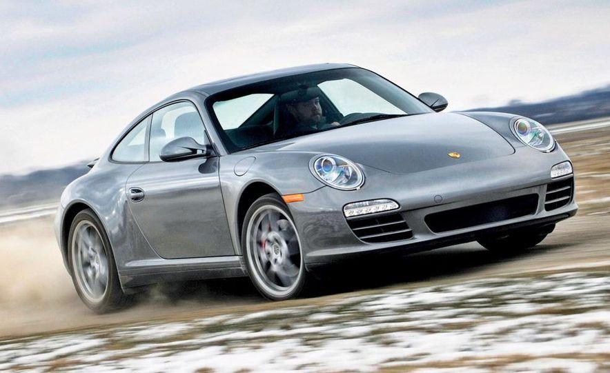 2009 Porsche 911 Carrera 4S coupe - Slide 1