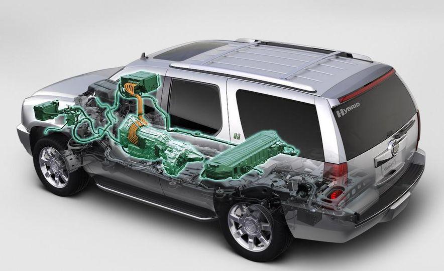 2009 Cadillac Escalade hybrid wheel - Slide 12