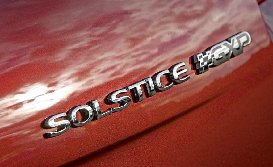 2009 Pontiac Solstice GXP coupe - Slide 4