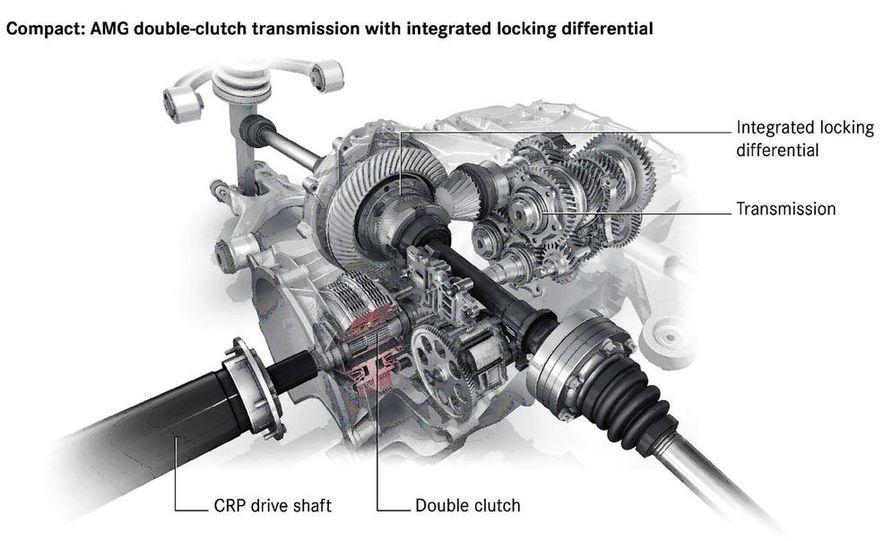 2011 Mercedes-Benz SLS AMG dry-sump oil lubrication system diagram - Slide 2