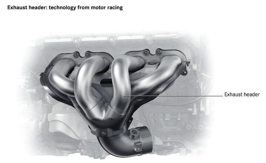 2011 Mercedes-Benz SLS AMG dry-sump oil lubrication system diagram - Slide 10