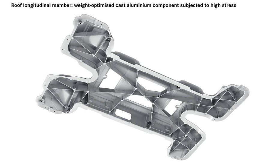 2011 Mercedes-Benz SLS AMG dry-sump oil lubrication system diagram - Slide 7