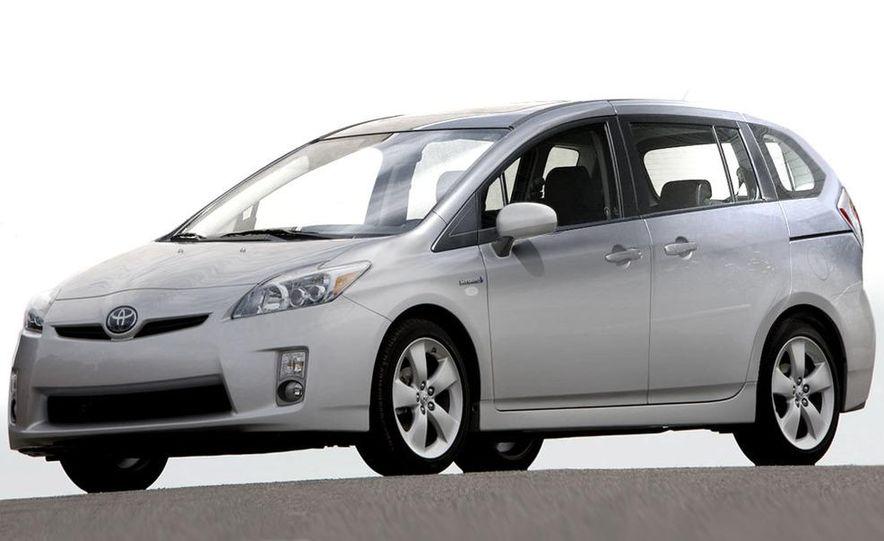 Toyota Prius minivan (artist's rendering) - Slide 1