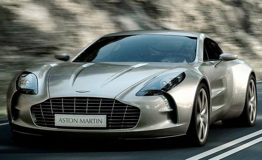 2010 Aston Martin One-77 - Slide 1